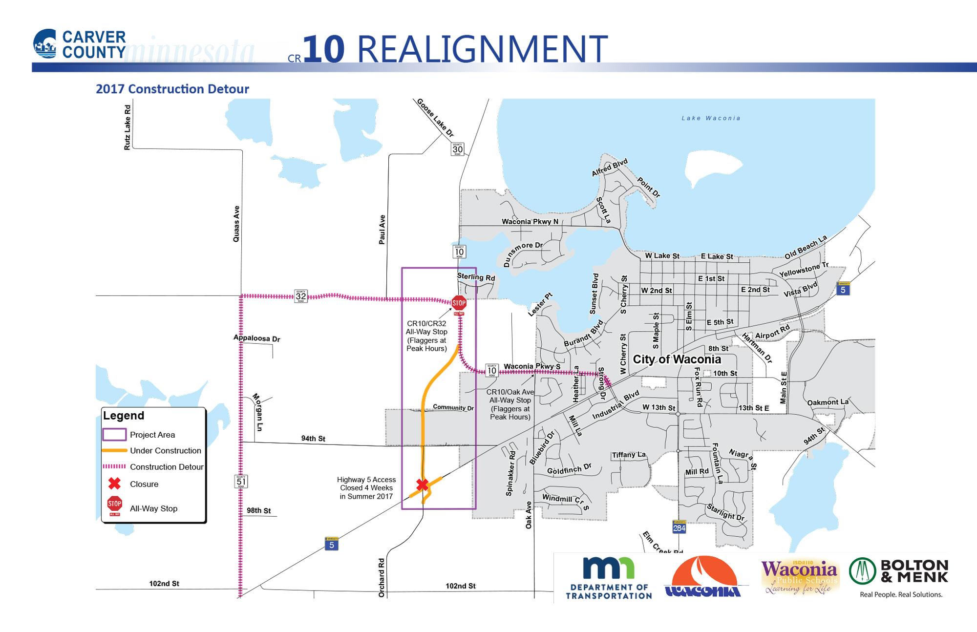 Twin Cities Metro Area Weekend Traffic Impacts MnDOT