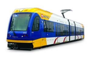 Image of Metro Transit train.
